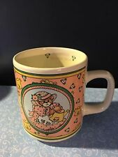 Lucy & Me Rigg Teddy Bear Happiness Blooms Here Coffee Mug Cup Lot A-8