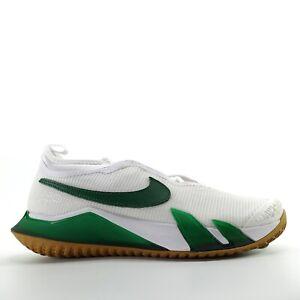 Nike Court React Vapor NXT White Green Tennis Shoes Mens Size 8.5 CV0724-114