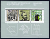 ALEMANIA/RFA WEST GERMANY 1984 MNH SC.1420 UPU Congress
