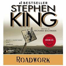Roadwork by Richard Bachman and Stephen King (2013, CD, Unabridged)