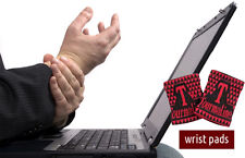Healing Tourmaline Magnetic Microfibre Wrist Pads - Ease Hands Pain
