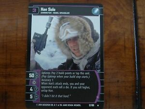 Star Wars TCG R&S Han Solo (I)