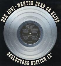 "Bon Jovi -12"" Ltd Edit. Silver Vinyl -Wanted Dead Or Alive -1987 Vertigo JOVR112"