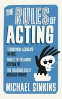 The Rules of Acting by Simkins, Michael, NEW Book, (Paperback) FREE & Fast Deliv