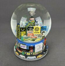 Vintage Broadway Shows Musical Snow Globe 1999 New York Times Square
