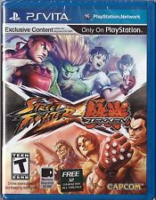 Street Fighter X Tekken [Sony PlayStation Vita PSV, Portable Arcade Fighting]