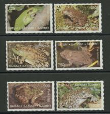 Frogs Toads mnh set of 6 stamps Batum Bullfrog