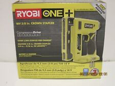 "Ryobi P317 ONE+ Cordless 38"" Compression Drive CROWN STAPLER -NISB FREE SHIPPING"