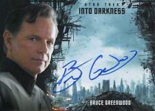 Star Trek Beyond (Into Darkness) Autograph Card Bruce Greenwood as Captain Pike