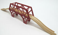 Imaginarium Brio Thomas Wooden Train Red Suspension Bridge with On Off Ramps