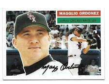 Magglio Ordonez 2005 Topps Heritage White Uniform SP #118   Short Print