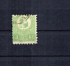 Ungarn 1871, Mi Nr. 2 gebraucht mit Falzrest, geprüft BPP Altsignatur