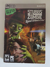 Stubbs the Zombie: Rebel Without a Pulse. PC CD, Windows. US, boxed version