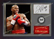 Floyd Mayweather Jr signed Boxing Memorabilia Framed-MDF