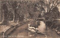 POSTCARD  OXFORDSHIRE   OXFORD   View on  the  Cherwell
