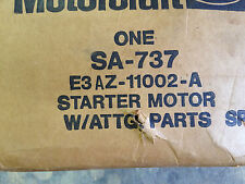 SA737 Starter Motorcraft Bronco Continental Mark VI VII Town Car  *see notes*
