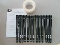 13 x MID SIZE Golf Grips With tape & instructions Superior in all weathers