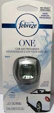 Febreze Car Vent Clip - AQUA Scent - Single Pack