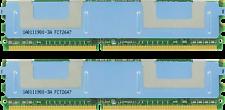 46C7577 16GB (2X8GB) PC2-5300 MEMORY RAM  FOR IBM BLADECENTER HS21
