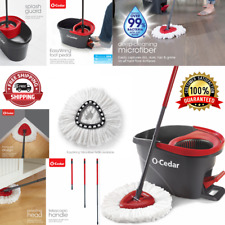 Floor Cleaning Easy Wring Mop And Spin Bucket System Microfiber Rotating Brush