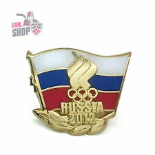 Russia Olympic Team pin badge. London 2012. Summer games. Limited Series.