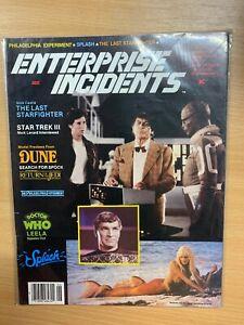 "*RARE* JUNE 1984 STAR TREK ""ENTERPRISE INCIDENTS"" #18 USA MAGAZINE (P4)"