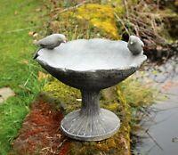 BIRD BATH BOWL OUTDOOR ORNAMENTAL TRADITIONAL  GARDEN WATER WEATHERPROOF