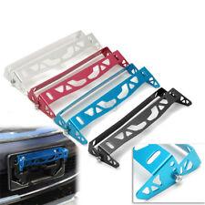 Universal Car Bumper Tilt License Number Plate Mount Holder Bracket Aluminum AU