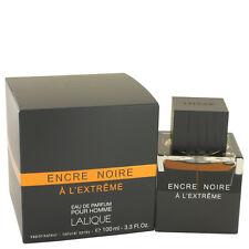Lalique Encre Noire A L'extreme Fragrance 3.4oz Eau De Parfum MSRP $135 NIB