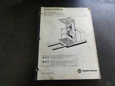 BT Prime-Mover OE-35 Electric Order Selector Repair Service Manual