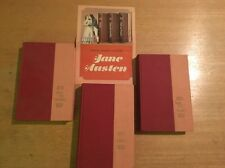 Jane Austen Hardcover Book Set Of 3: Nelson Doubleday Inc FREE SHIPPING