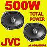 "JVC 500W TOTAL 2WAY 6x8 INCH 6x8"" CAR DOOR/SHELF COAXIAL SPEAKERS FORD MAZDA"