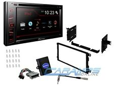 PIONEER 6.1 TOUCHSCREEN CAR STEREO RADIO RECEIVER W DASH KIT INTERFACE & ANTENNA