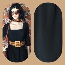Vintage Pequeño Vestido Negro Talla 10 12