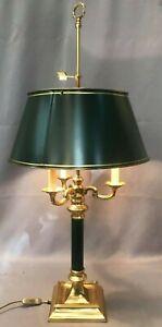 Superbe et grande lampe bouillotte style empire 90 cm