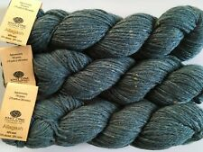 LOT of 3 Knit One Crochet Too Allagash #671 Blue Spruce Worsted Wool Yarn -Sale!