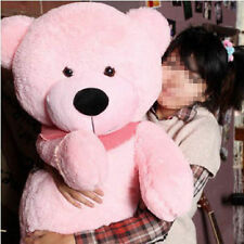 Pink Plush Teddy Bear Giant Huge 100cm Soft Cotton Doll Toys Stuffed Xmas Gifts