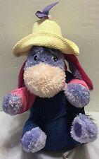 """NWT Disney Store Exclusive Garden Party 9"""" Eeyore Mini Bean Bag Plush Pooh Farm"""