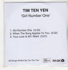 (GO756) Tim Ten Yen, Girl Number One - DJ CD