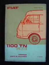 Catalogo parti ricambio Fiat 1100TN 217N 1964 (camion furgoni d'epoca)