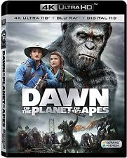 DAWN OF THE PLANET OF APES (4K ULTRA HD) - Blu Ray -  Region free