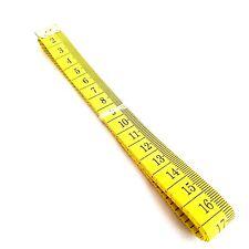 """1 m ruban à mesurer en fibre de verre mesure couture couture tailleurs tissu 60"""""""