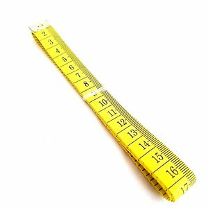 """1 Meter Tape Measure Plastic Dressmaking Sewing Tailors Measurement 60"""" 100CM"""