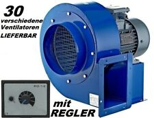 200M Industrial Extractor Fan Centrifugal Blower + 500W controller fume exhaust