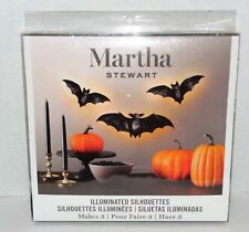 Martha Stewart Crafts® Illuminated LED Bat Decorations Kit | Halloween | Decor