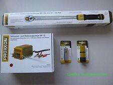 Proxxon Universelle et Pompe d'aspiration d'huile AP 12,25262+ MC 200 +