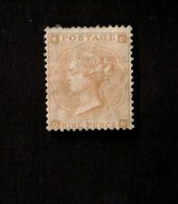 Great Britain 1862 9p Straw (p2) Sc# 40 Queen Victoria