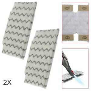 2 Pack Pads Replacement Shark Steam S6001UK S6003UK S3973 Klik n Flip Pocket Mop