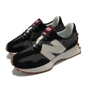 New Balance 327 NB Black Grey White Women Casual Lifestyle Shoes WS327KC-B
