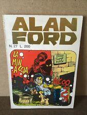 ALAN FORD N. 27 La minaccia alcoolica CORNO 1971 Magnus ORIGINALE 1^ ED. B/O